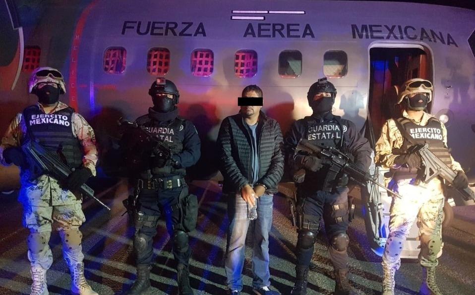 """Capturan a brazo derecho y Lugarteniente de José Antonio Yépez Ortiz """"El Marro"""" en Baja California"""