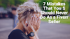 7 Mistakes That You should Never Do As a Fiverr Seller