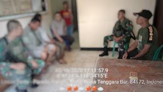Terduga pembalak liar saat diamankan Patroli Gabungan