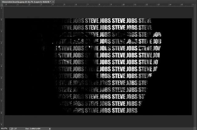 Tutorial cara membuat typography wajah dengan photoshop