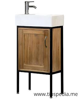 shallow bathroom cabinet