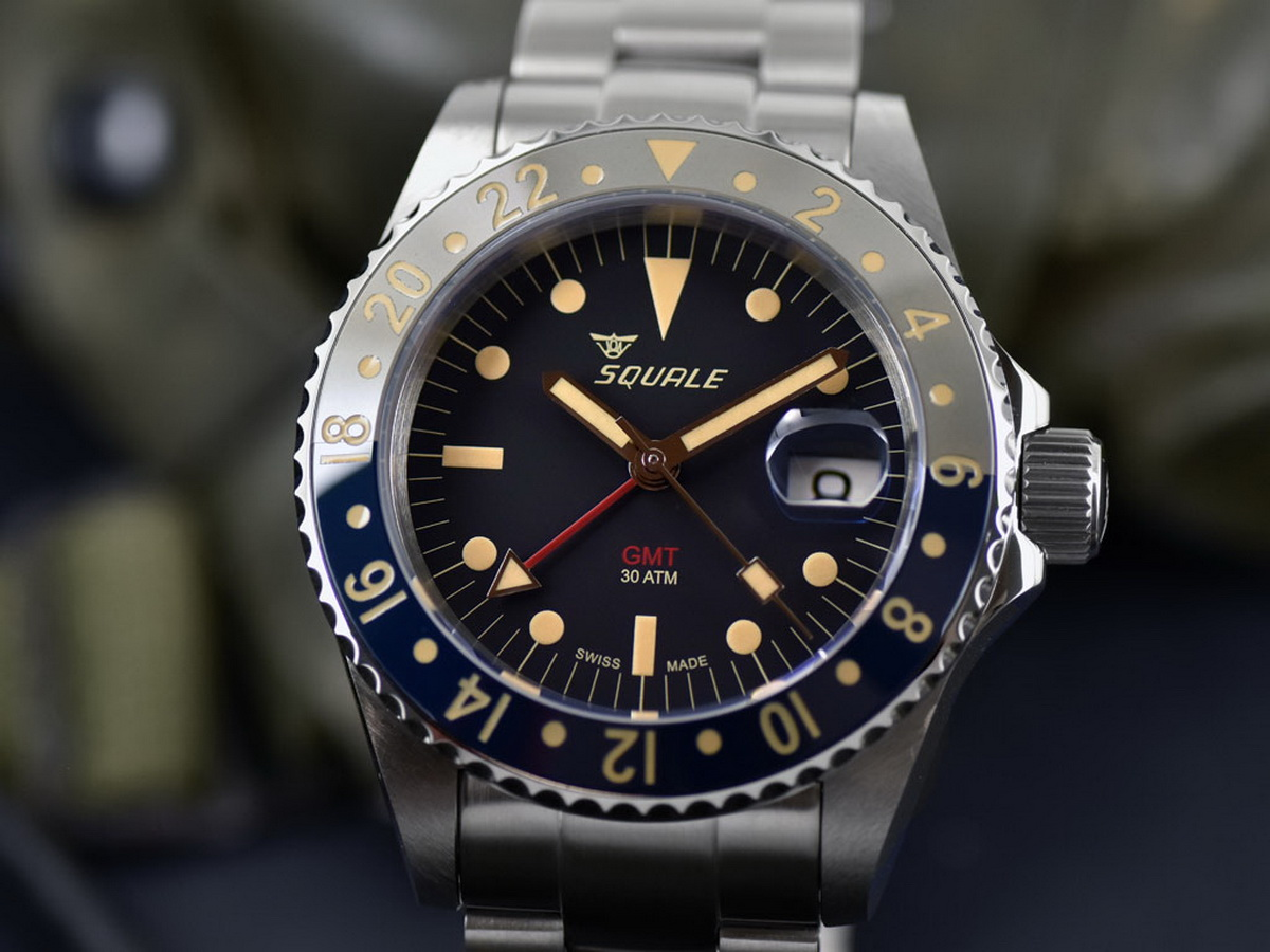 super matte watches squale black atmos opaco