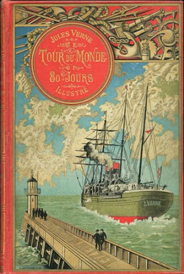 Novel Around the World in 80 Days by Jules Verne