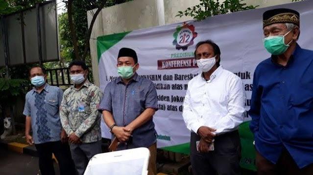 Alumni 212 Minta Komnas HAM Bawa Kasus Penembakan 6 Laskar FPI Ke Mahkamah Internasional