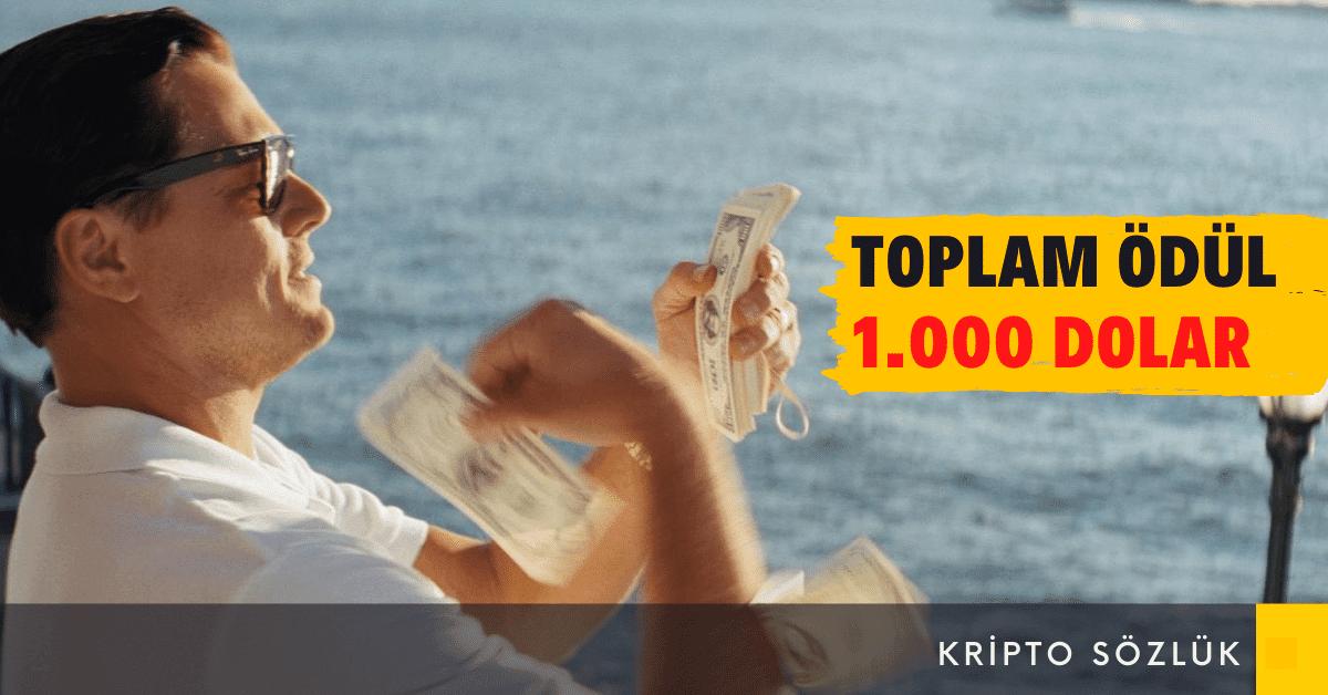 Toplamda 1.000 Dolar Ödüllü Kripto Sözlük Turnuvası Devam Ediyor