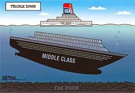 Cartoon Middle Class Decline