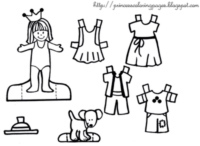 More Puppetry Page 2 Princess Paper Doll Wardrobe