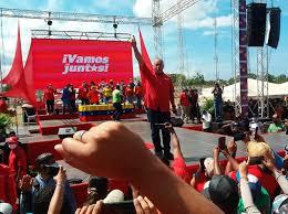 Diosdado Cabello, expresó.  Estamos enfrentando al imperio mas poderos de todos los tiempos hoy