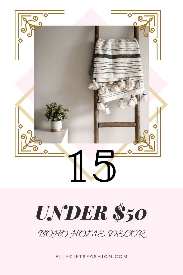 15 UNDER $50: BOHO-CHIC HOME DECOR!!!