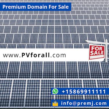 PVforall.com Premium Domain For Sale