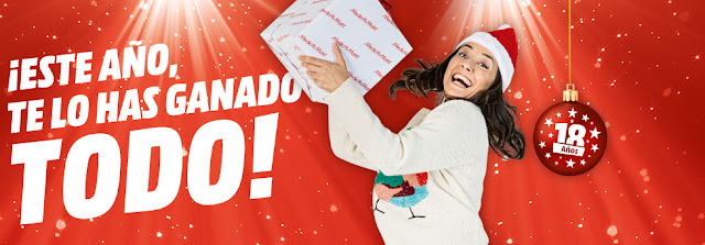 Mejores ofertas folleto ¡Este año, te lo has ganado todo! de Media Markt