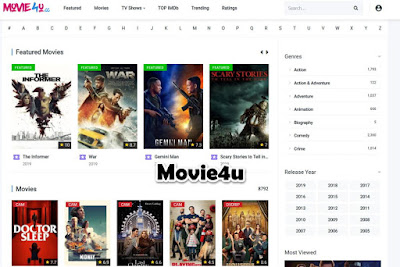 Movie4u - Free Movie Streaming Sites No Sign Up