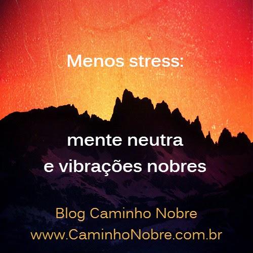 Dica valiosa para ter menos stress e menos cansaço na mente