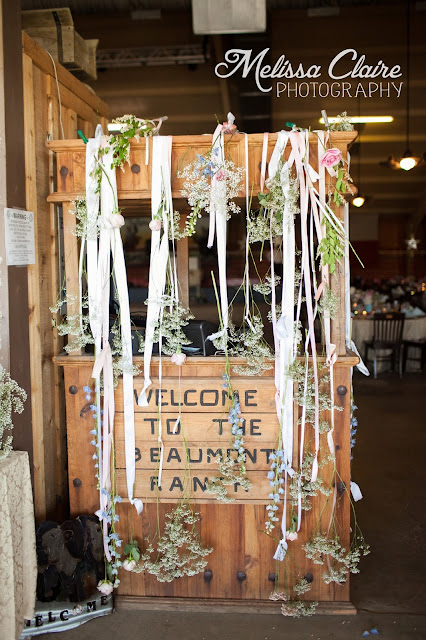 The Blooming Bride, DFW, Fort Worth, Texas, Wedding Flowers, hanging, sign, guest, welcome
