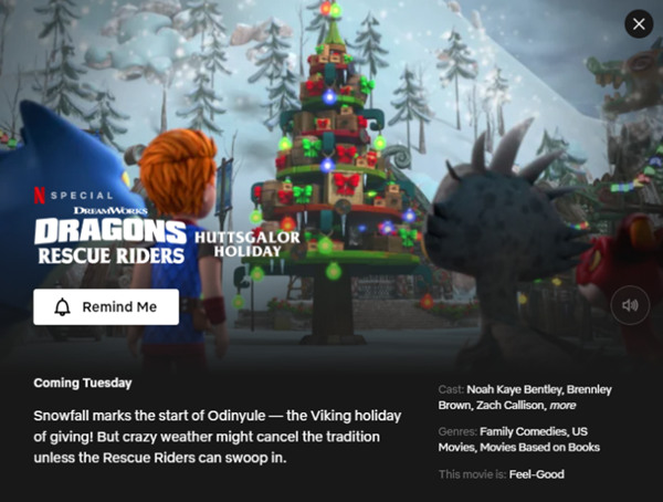 Dragon Rescue Riders Huttsgalor Holiday - 24 November 2020