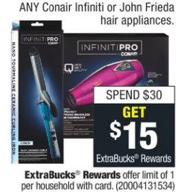 Conair Or John Frieda Hair Appliances