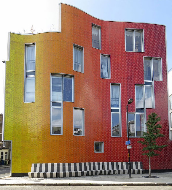 Brandon Street housing by Metaphorm, Elephant & Castle, Southwark, London