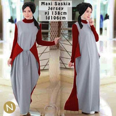Jual Maxi Dress Maxi Dress Zaskia - 12292