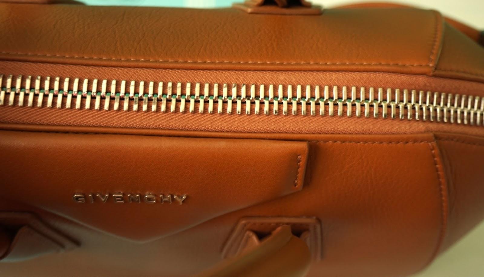 8c490f419fff Bag Review  Givenchy Antigona Medium Metal Edge in Hazel + Spot A Fake  Givenchy Antigona