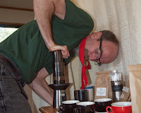 Aeropress review from a cabin