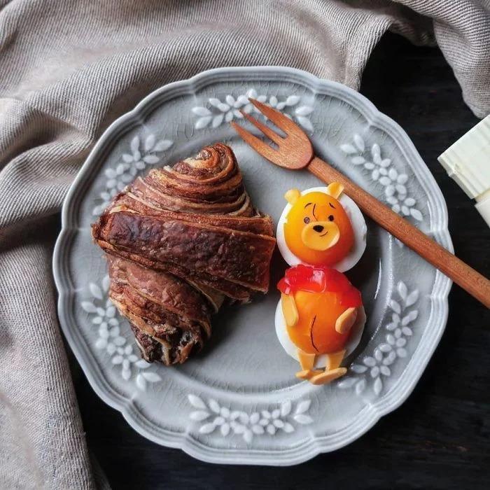 Esta mamá prepara para sus hijas los mejores desayunos que has visto; amor y creatividad