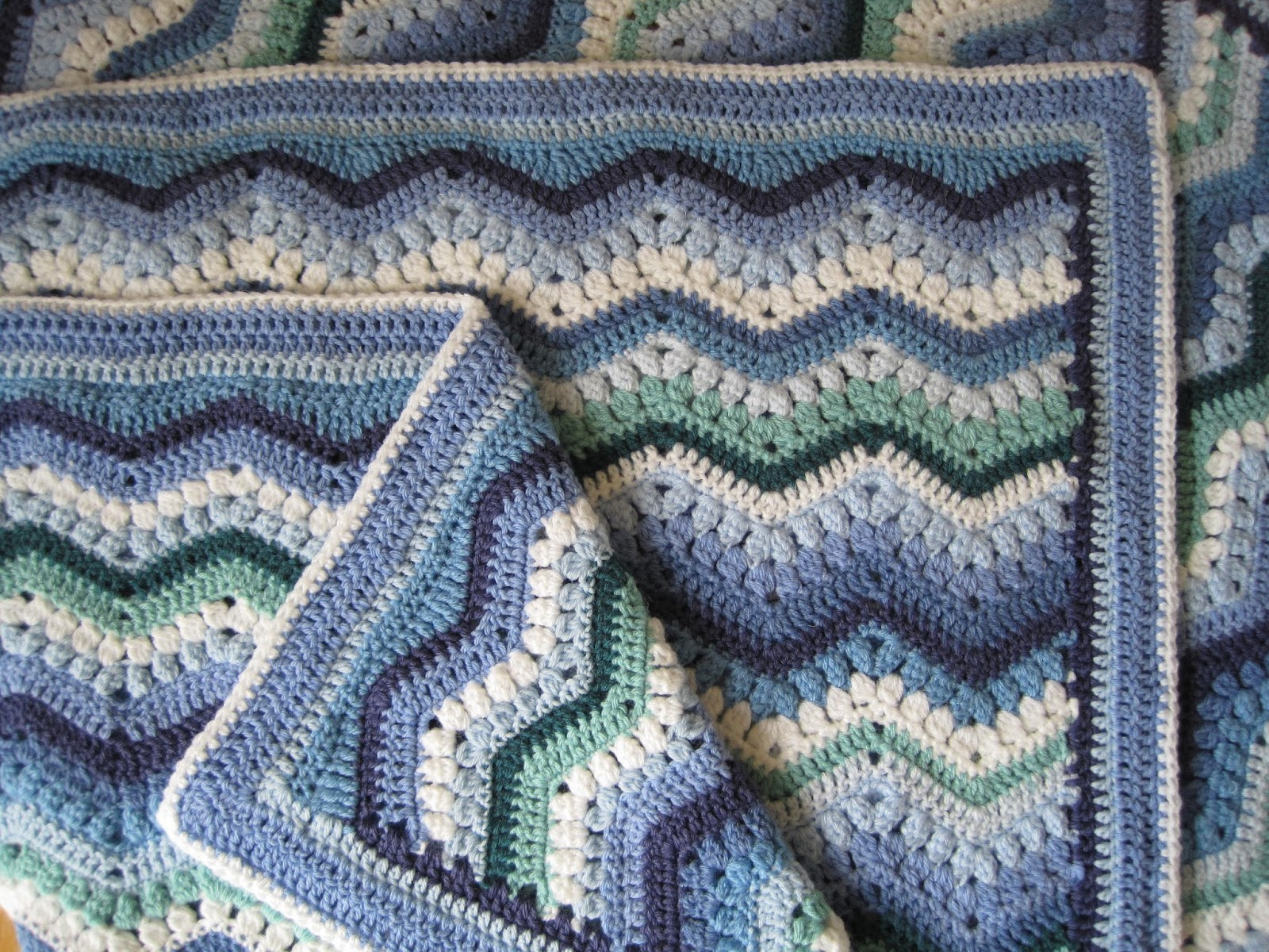 Tina\'s Allsorts: Rippling Clusters Blanket