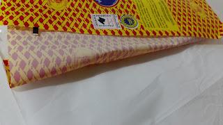 papel celofán + papel sulfurizado adherido