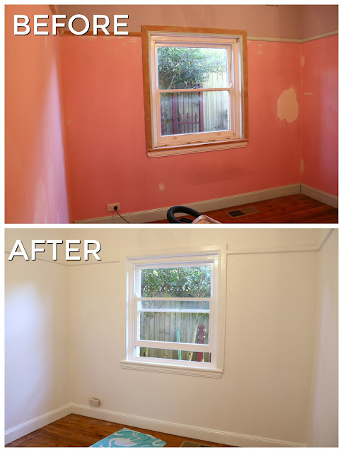 Complete Room Makeover - From Spare Bedroom to Home Office - Before and After