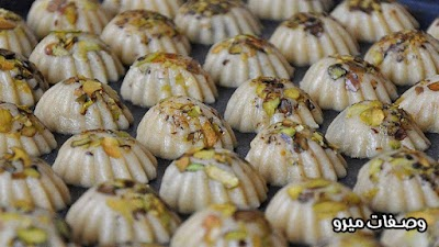 طريقة عمل المعمول الشامي (المعمول بالسميد)