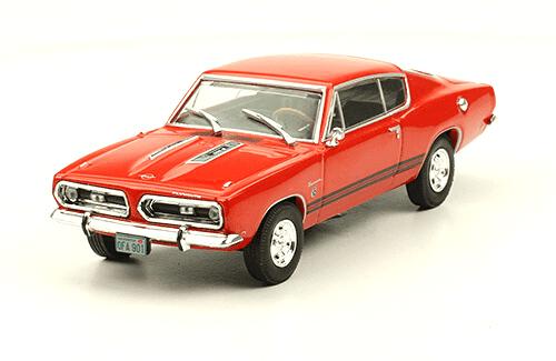 Plymouth Barracuda 1968 american cars
