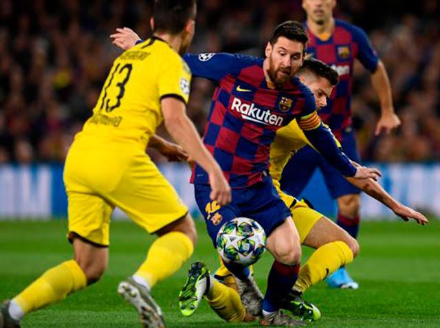 FÚTBOL: Messi guió la victoria del Barcelona.