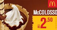 SuperCasquinha McColosso McDonald's por 2,50 reais