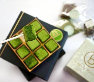 Các công thức làm nama chocolate trà xanh gây nghiện 4