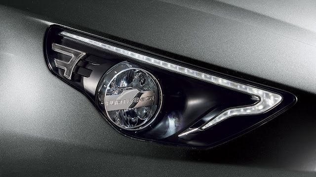 Exagon Furtive-eGT headlamp