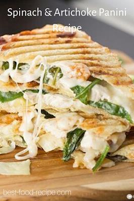 Spinach & Artichoke Panini Recipe