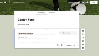 cara melihat respon orang yang sudah mengisi google form
