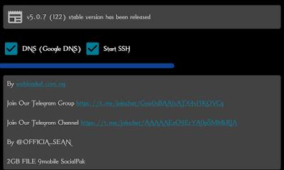 9mobile SocialPak 2.5GB+500mb Cheat For HTTP Injector VPN