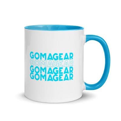 GOMAGEAR Blue Contour MUG