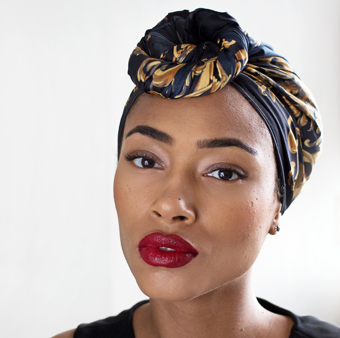 Fresh Lengths: Style | Top Knot Head Wrap
