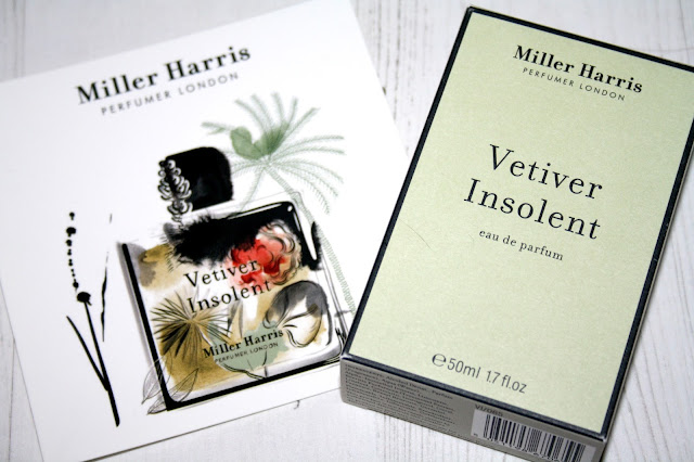 Vetiver Insolent By Miller Harris