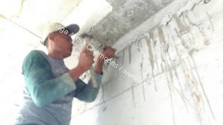 perbaikan beton keropos