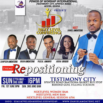 Movie Director Pascal Amanfo Joins The Amoateng Pastors For Next Level Conference