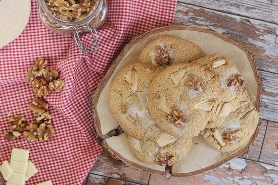 walnut and white chocolate spiced cookie recipe
