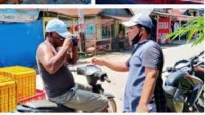 KolaborAksi Kemanusiaan Pasbar  Kembali Salurkan Masker, Cegah Covid-19