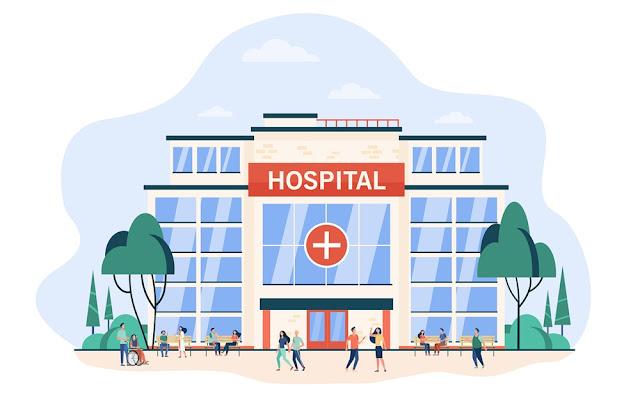 ilustrasi gedung rumah sakit