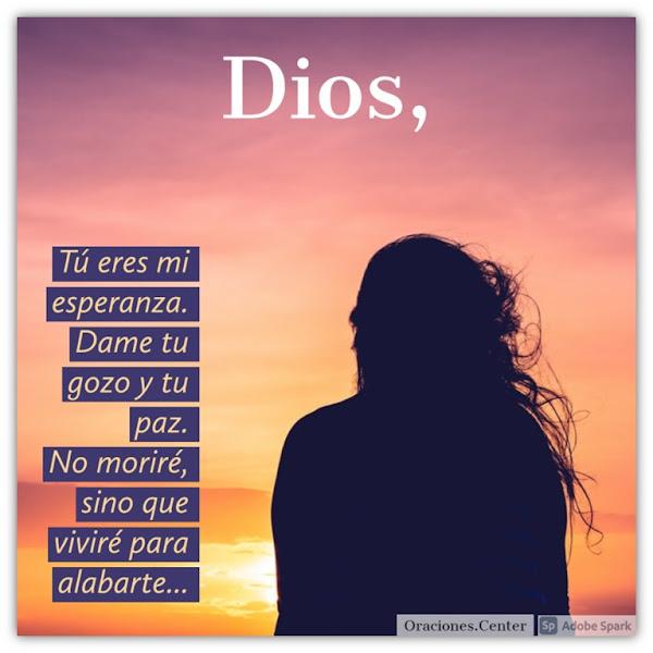 Oración al Dios de la Esperanza