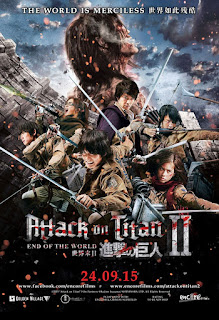 Download Film Attack on Titan - Part 2: End of the World (2015) Bluray 720p Subtitle Indonesia