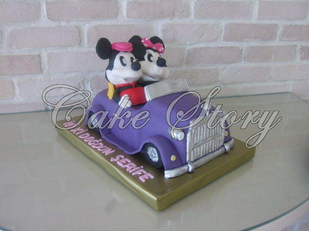 Cake Story M Ckey Mouse And Minnie Cake