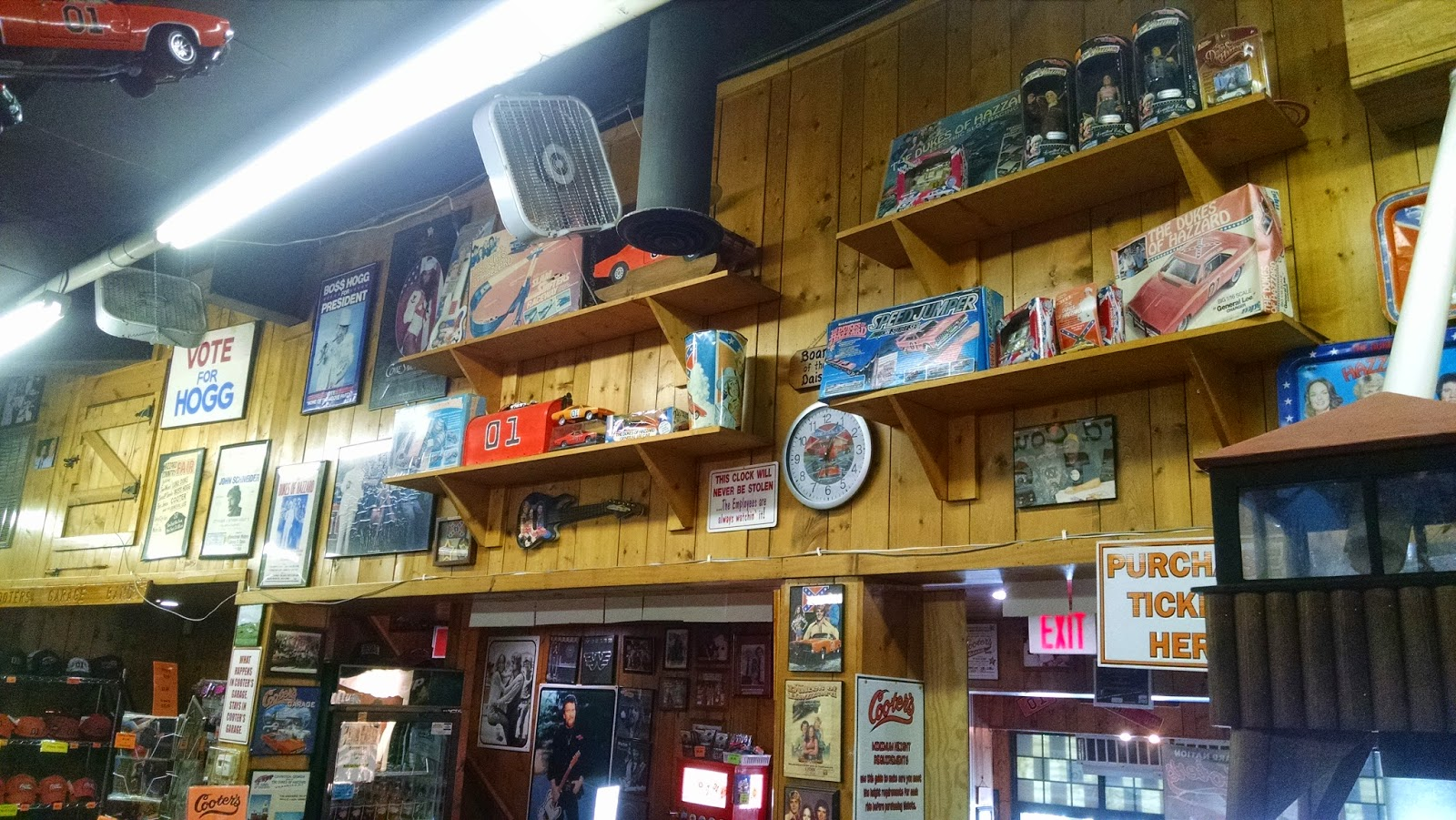 Go Karts Nashville >> Dukes of Hazzard Collector: Brad Miller Takes Us To Cooter ...