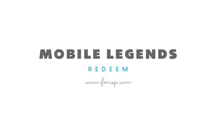 Kode Redeem Mobile Legends (ML) April 2021